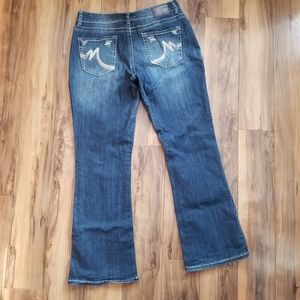 Maurices Stretch Bootcut denim jeans 9/10 EUC